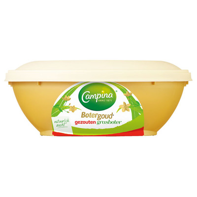 Campina Botergoud gezouten grasboter kuipje