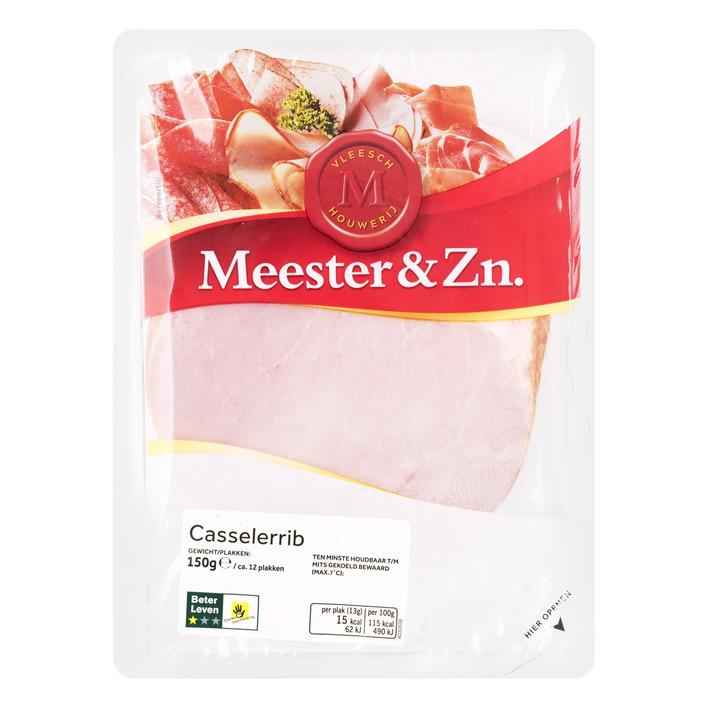 Meester&Zn Casselerrib