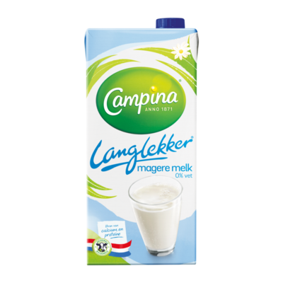 Campina Langlekker Magere Melk 0% Vet