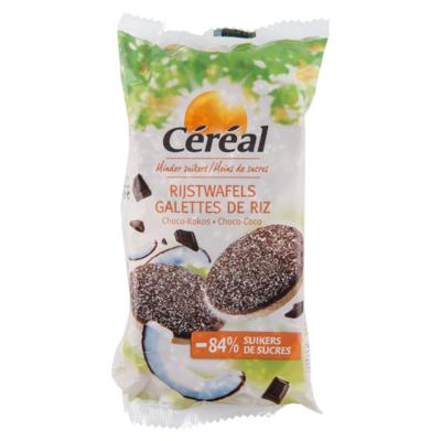 Céréal Rijstwafels choco & kokos