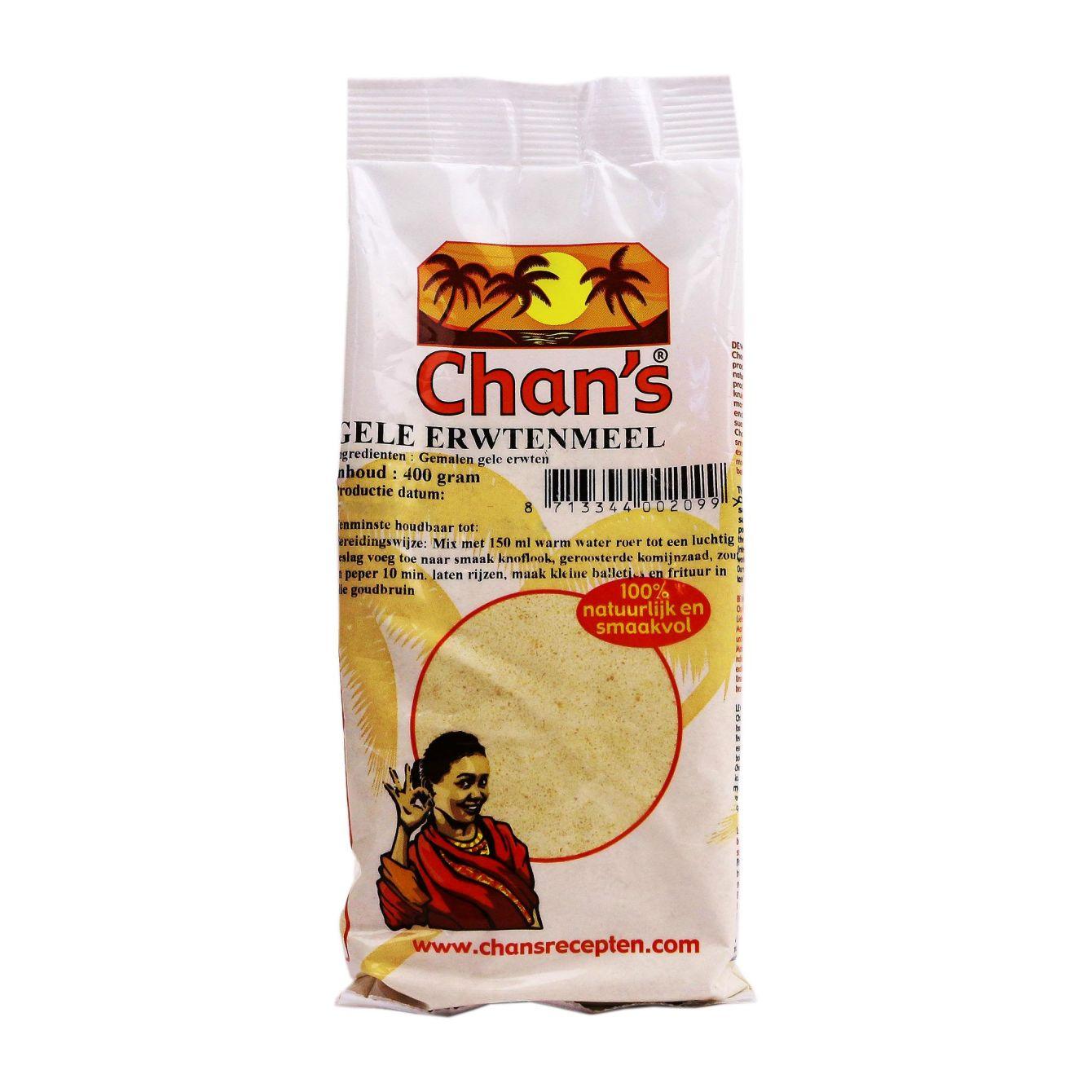 Chan's Gele Erwtenmeel