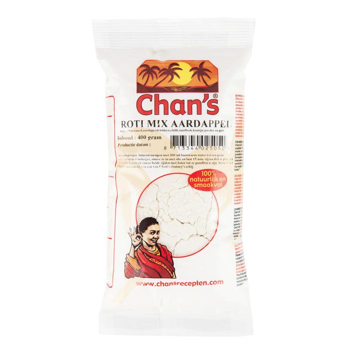 Chan's Roti mix aardappel