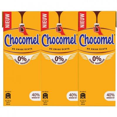 Chocomel 0% suiker toegevoegd multipack