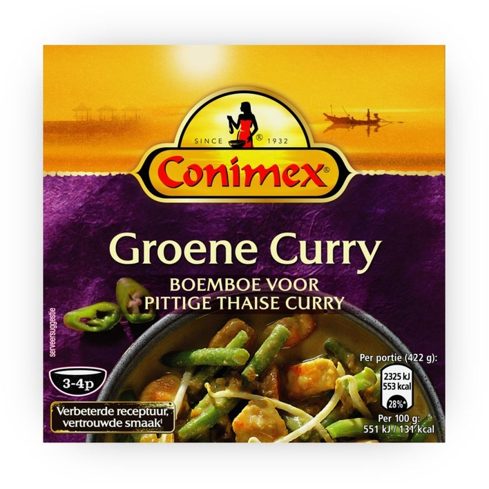 Conimex Boemboe groene curry