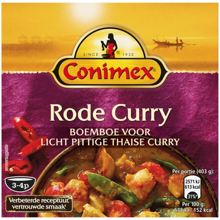Conimex Boemboe rode curry
