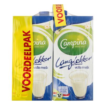 Campina Langlekker volle melk voordeel