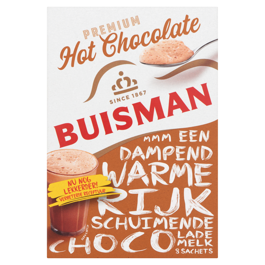 Buisman Oploskoffie hot chocolate