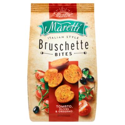 Maretti Bruschette bites tomato olives oregano