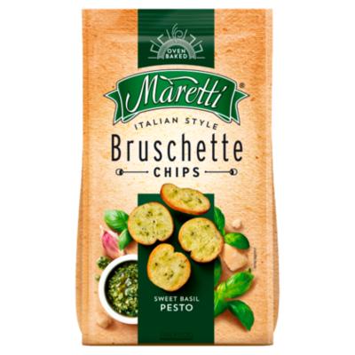 Maretti Bruschette bites sweet basil pesto