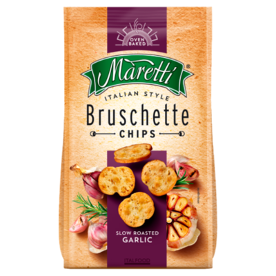 Maretti Bruschette bites slow roasted garlic