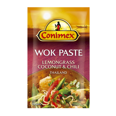 Conimex Wok paste lemongrass - coconut - chili