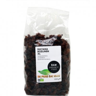 Raw Organic Food Rozijnen sultana biologisch