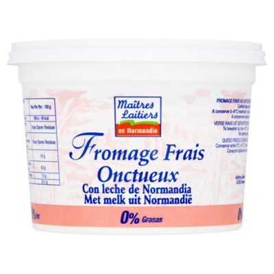 Maitres Laitiers Franse magere naturelkwark 0%