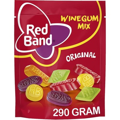 Red Band Winegum mix zacht zoet