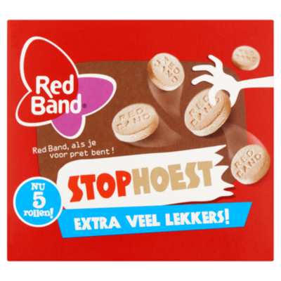 Red Band Stophoest 5-pack