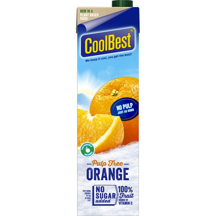 CoolBest Premium orange zonder vruchtvlees