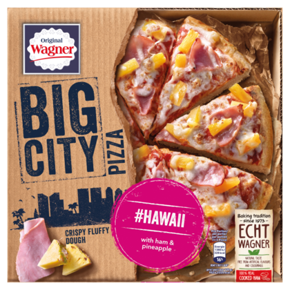 Wagner Big City pizza Hawaii