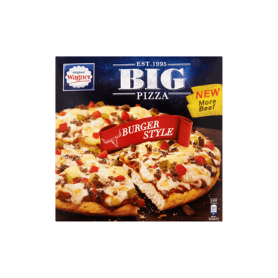 Original Wagner Big Pizza Burger Style