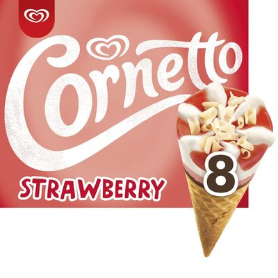 Ola Cornetto strawberry IJs