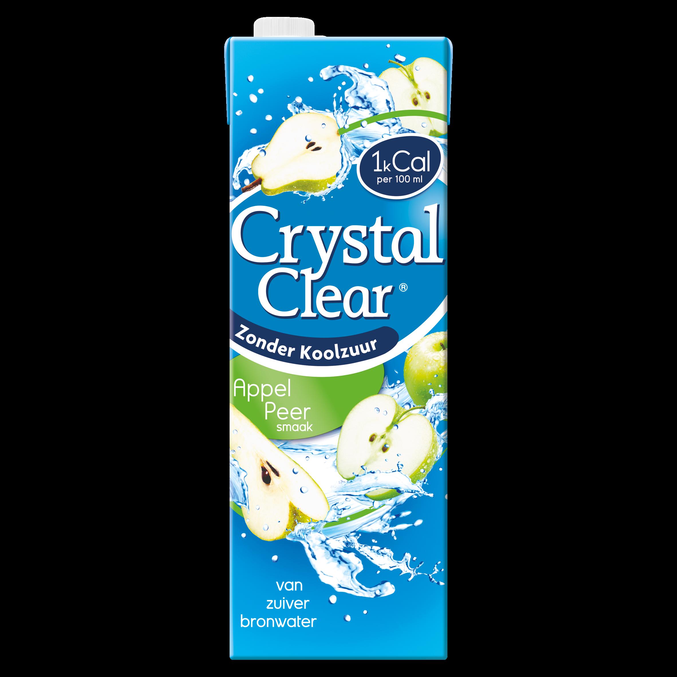 Crystal Clear Appel Peer Flavour 1,5 Liter