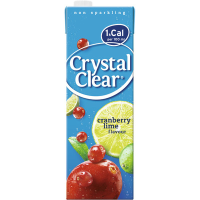 Crystal Clear Cranberry lemon