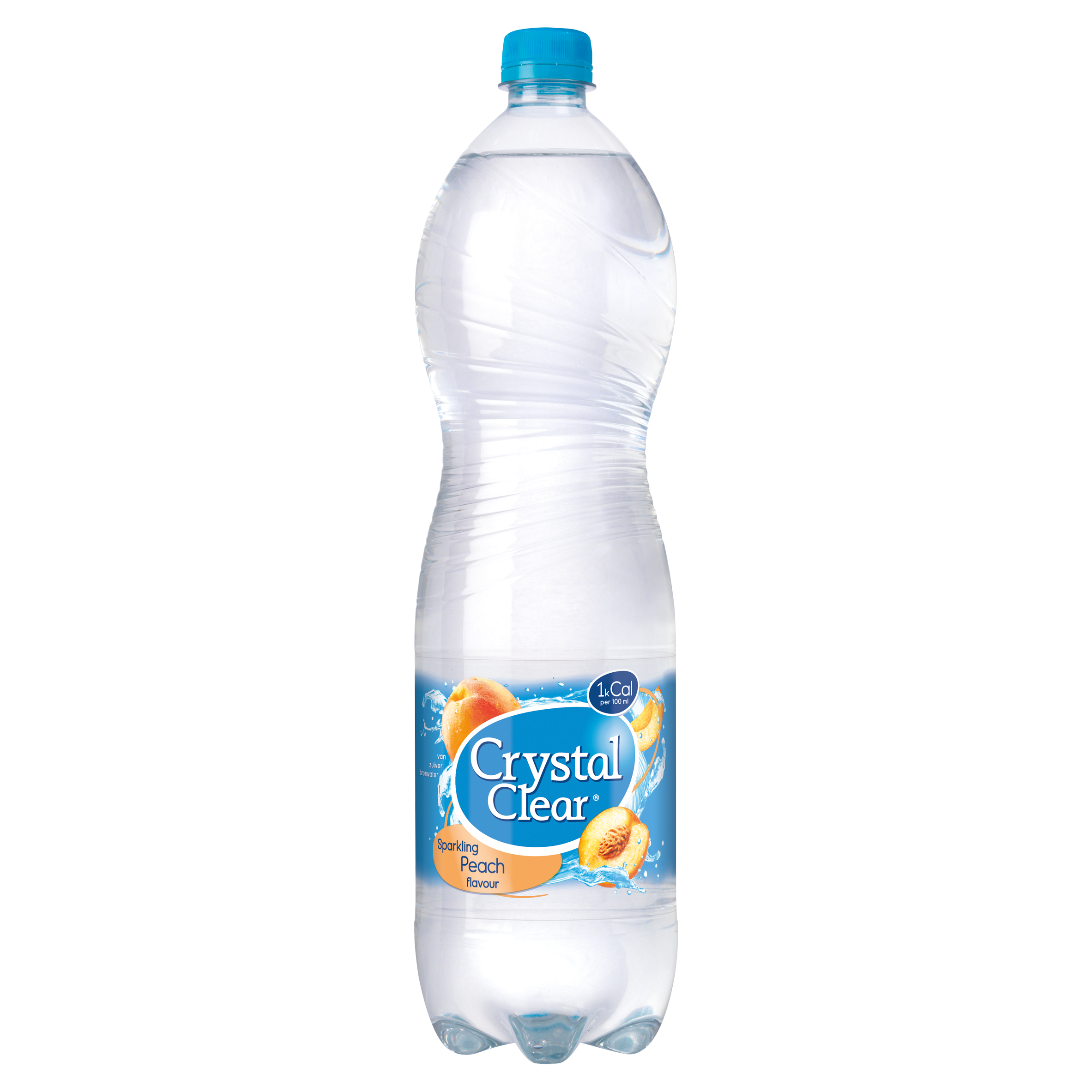 Crystal Clear Sparkling Peach Flavour 1,5 Liter