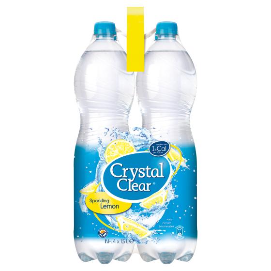 Crystal Clear lemon 4x 1.5 liter