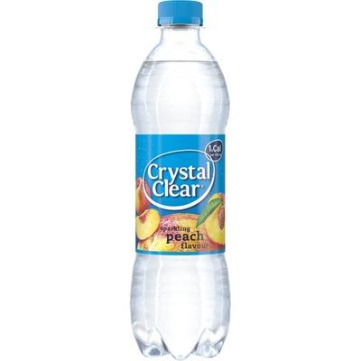 Crystal Clear Sparkling peach