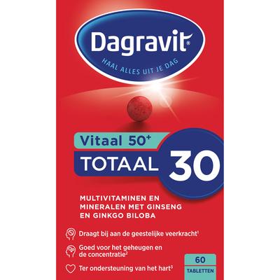 Dagravit 50+ tabletten