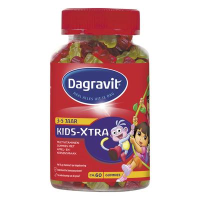 Dagravit Kids-Xtra multivitaminen gummies 3+