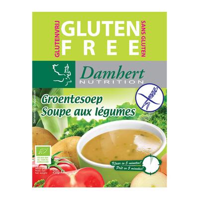 Damhert Biologische groentesoep glutenvrij