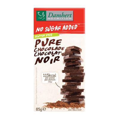 Damhert Pure chocolade tagatose suikerbewust