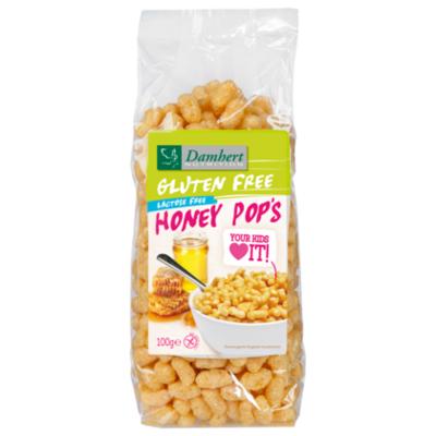 Damhert Glutenvrije honey pop's