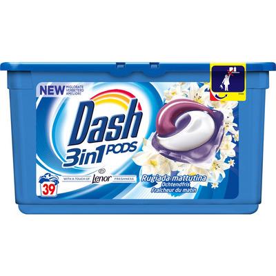 Dash 3in1 pods touch of lenor ochtendfris