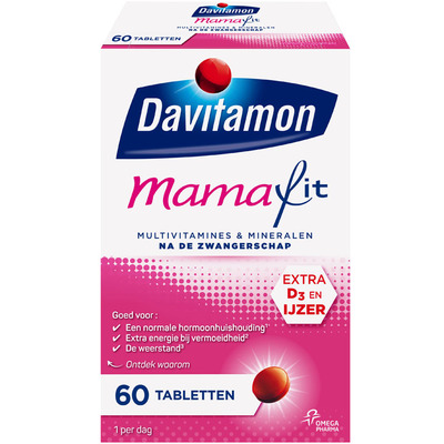 Davitamon Mamafit multivitamine tabletten