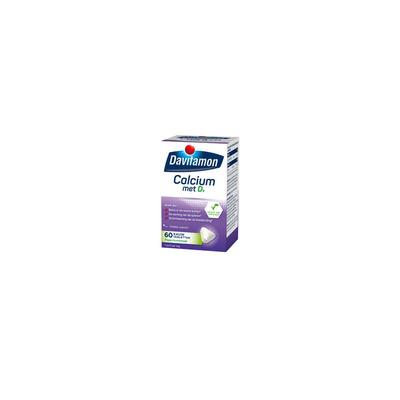 Davitamon Calcium + vitamine D kauwtabletten mint