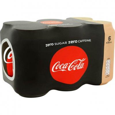 Coca-Cola Zero cafeïnevrij