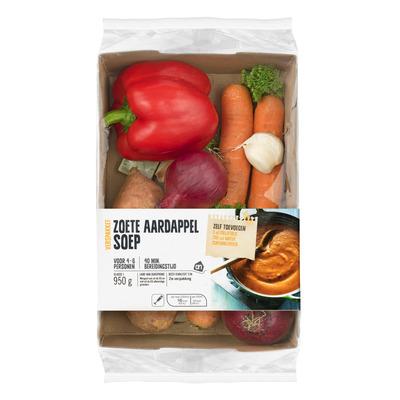 Huismerk Zoete aardappelsoep verspakket