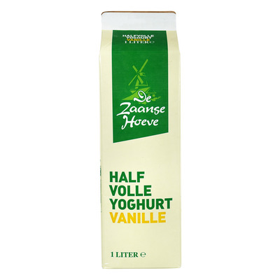 Budget Huismerk Halfvolle vanille yoghurt