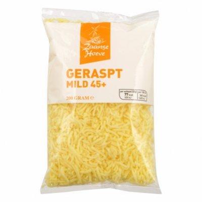 Budget Huismerk Kaas geraspt mild 45+