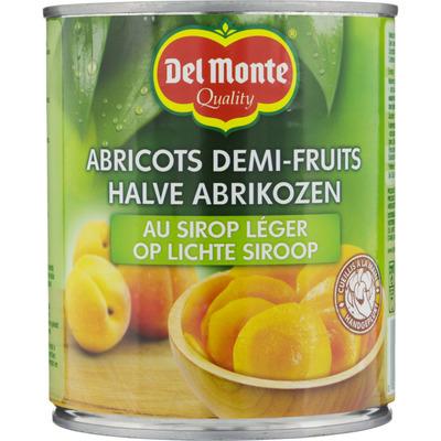 Del Monte Halve abrikozen op lichte siroop