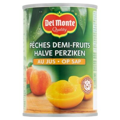Del Monte perziken op sap 415 gram