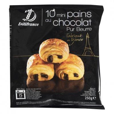 Délifrance Roomboter mini chocolade broodjes