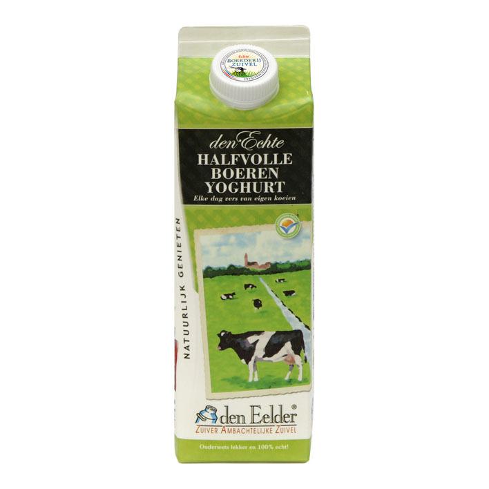 Den Eelder Boeren halfvolle yoghurt