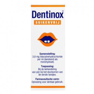 Dentinox Druppels suikervrij