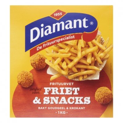 Diamant Friet & snacks vast frituurvet