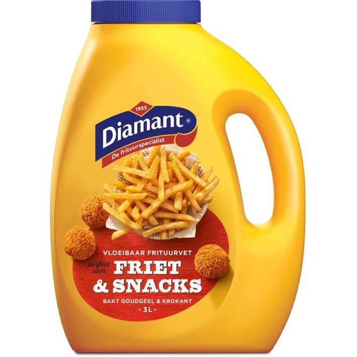 Diamant Friet & snacks frituurvet