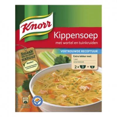 Knorr Kippensoep met tuinkruiden 2x1