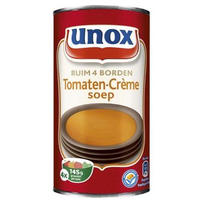 Unox Soep in blik tomatensoep crème