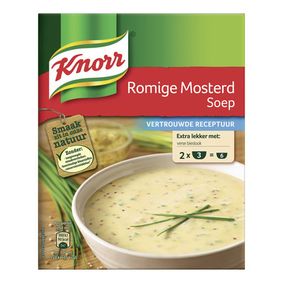 Knorr Mix romige mosterdsoep